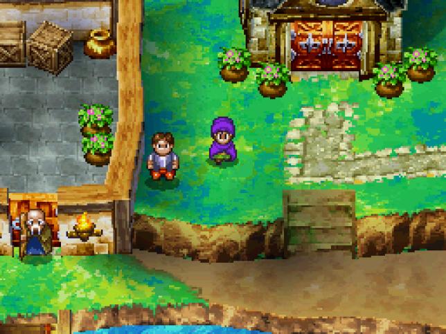 Le héros de «Dragon Quest V», au début de l'aventure.