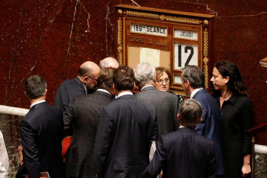 Après le vote de confiance au gouvernement à l'Assemblée nationale le 12 mai.