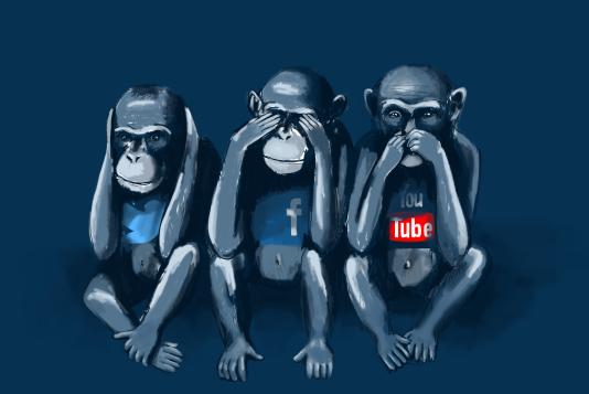 Modération de Facebook, Twitter, Youtube vue par l'UEJF, SOS-Racisme et SOS-Homophobie.