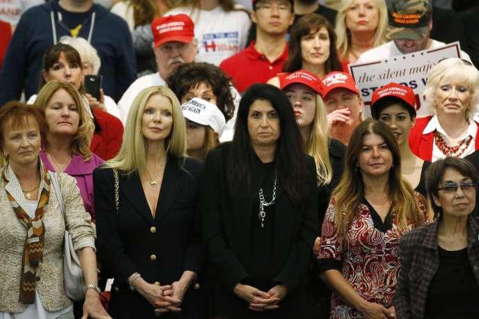 Pour les démocrates et pour beaucoup de républicains, Donald Trump est un candidat sexiste, comme il l'a montré dans nombre d'interventions.