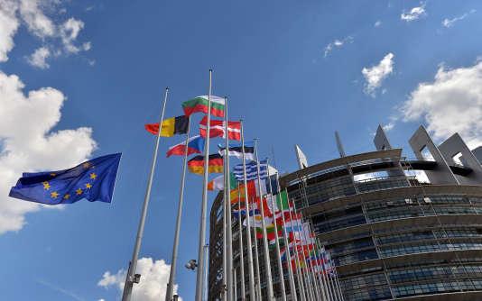 Au Parlement européen à Strasbourg, en juin 2014.