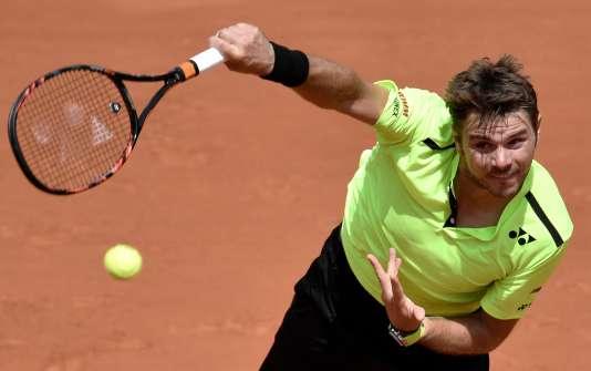 Le Suisse Stan Wawrinka, le 25 mai, à Roland-Garros.