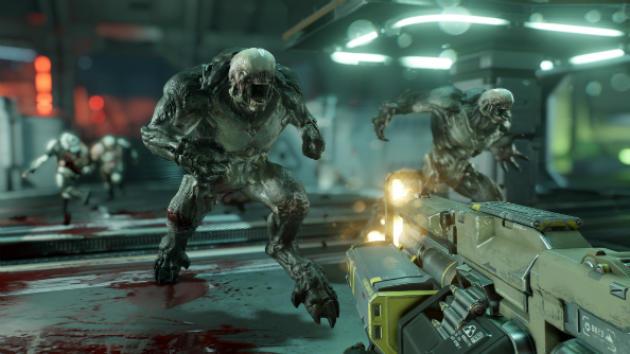 «Doom»renvoie même à une jouissance primaire du massacre de pixels, que les jeux modernes avaient presque oublié.