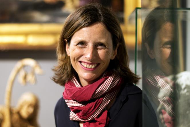 Emmanuelle Duverger au Musée Fayet, à Béziers, le 20 mai.