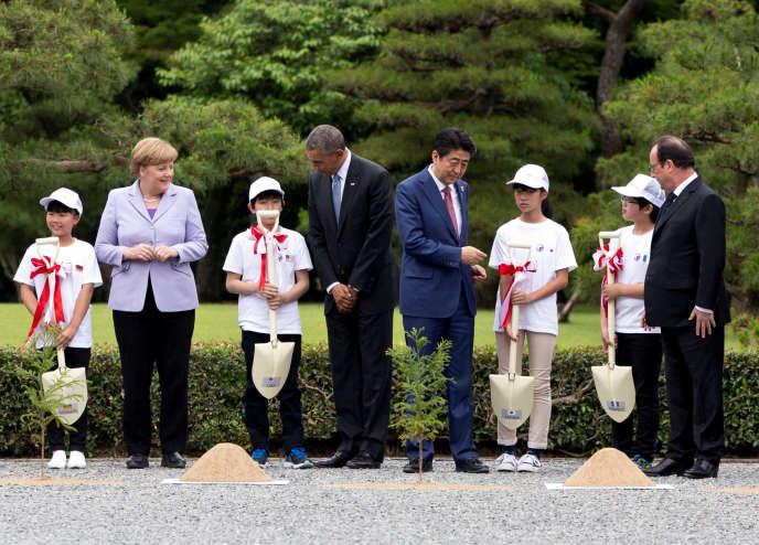 Au G7 à Shima au Japon jeudi 26 mai.