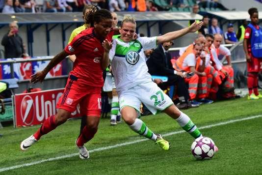 Les deux équipes étant à égalité 1 - 1 à la fin de la prolongation, l'OL a arraché sa victoire face au club allemand de Wolfsburg aux tirs aux buts.