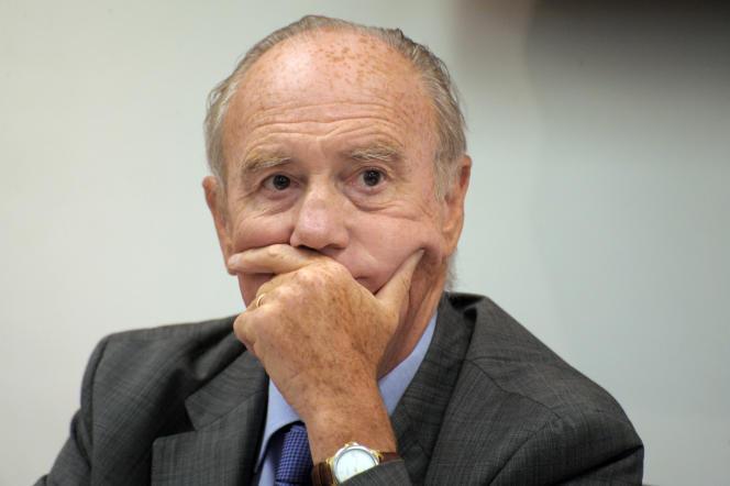 Le professeur Henri Joyeux, à Paris, le 17 août 2010.