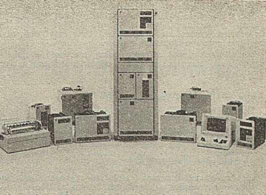 Les ordinateurs Series-1 d'IBM.