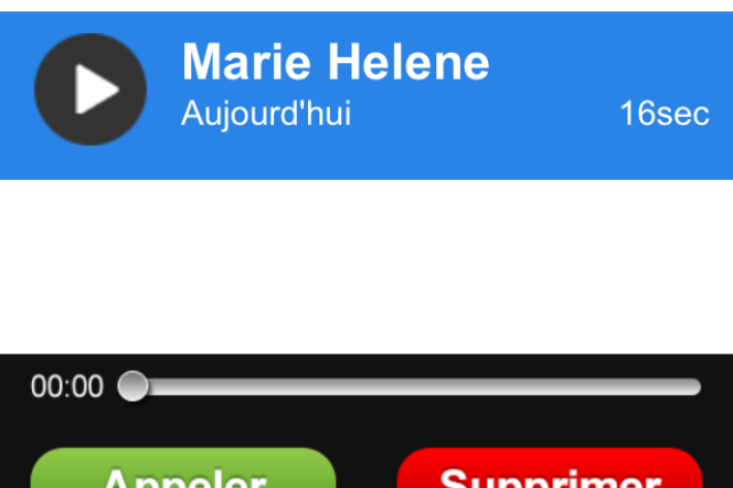 Apparemment anodin, cette fausse messagerie va tenter de vous ponctionner de l'argent via un appel surtaxé vers un numéro en 0890.
