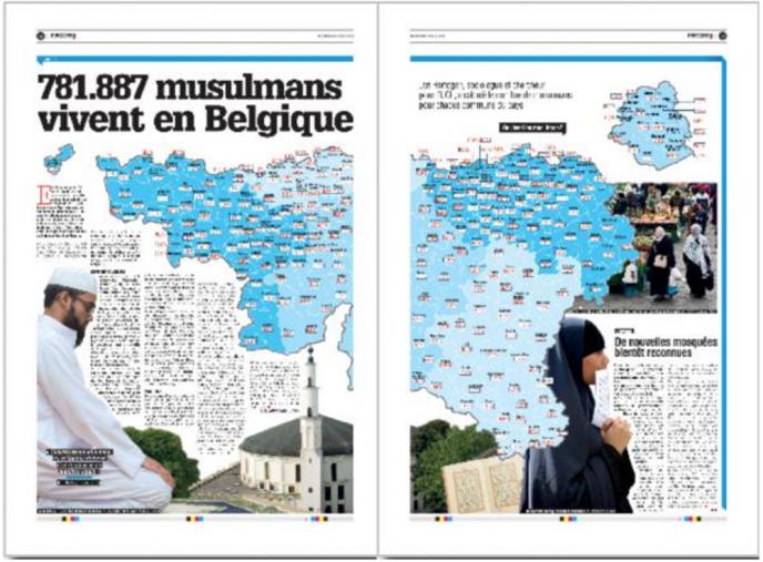En pages 2 et 3 de «La Meuse».