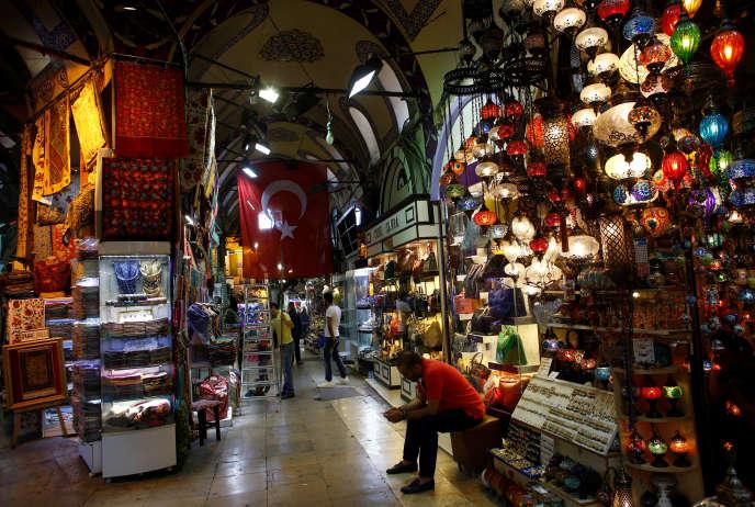 Le grand bazar d'Istanbul, le 25 mai.