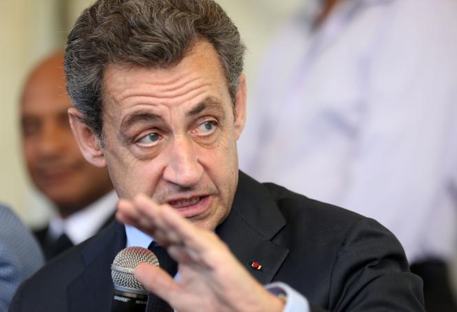 Nicolas Sarkozy, le 27 mai 2016.
