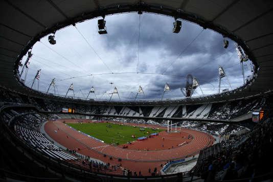 Le stade olympique de Londres.
