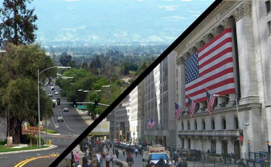 Aperçus de la Silicon Valley (Californie).