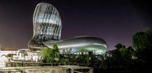 La Cité du vin, à Bordeaux.