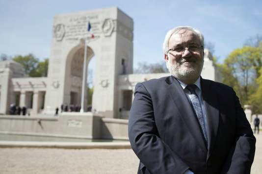 Le secrétaire d'Etat aux anciens combattants, Jean-Marc Todeschini, le 20 avril 2016.