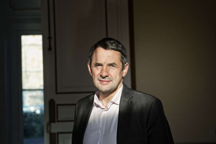 Thierry Mandon, secrétaire d'État chargé de l'enseignement supérieur et de la recherche, le 27 mai.