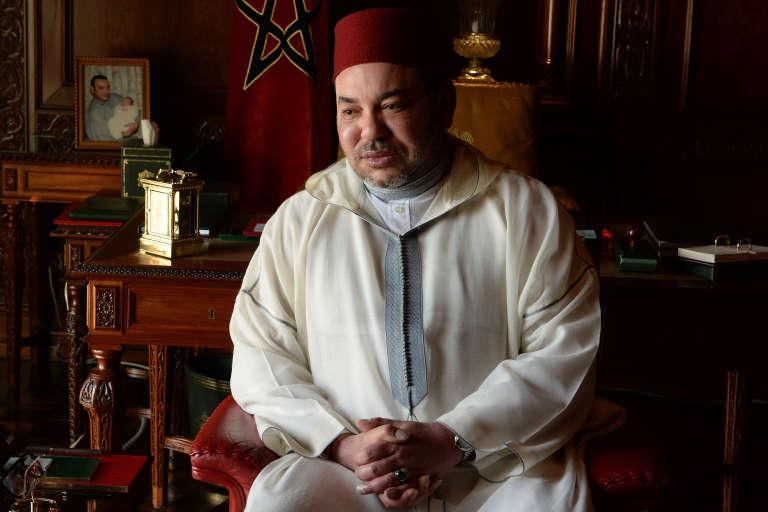 Le roi Mohammed VI.