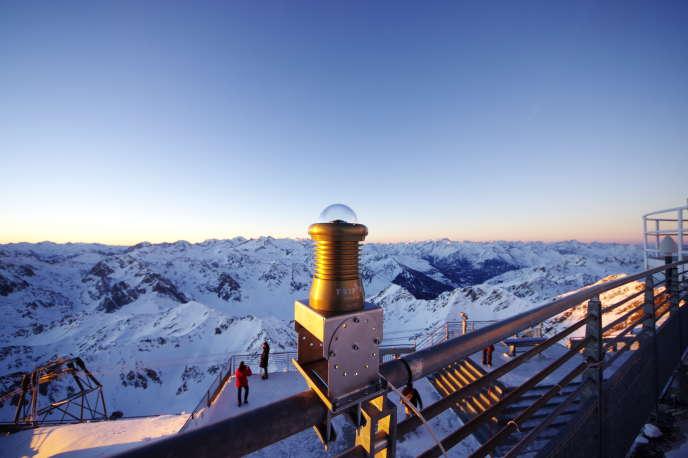 Le système Fripon de détection des météorites au Pic du Midi, dans les Hautes-Pyrénées.