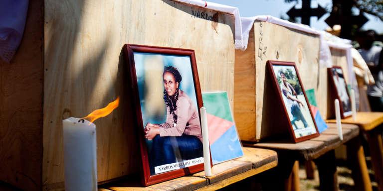 Des photos des victimes du double attentat de Kampala, le 16 juillet 2010.