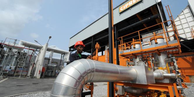 Un site de production de la Compagnieivoirienne de production d'électricité (Ciprel) à Abidjan, en février 2014.
