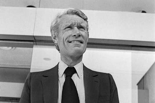 Jean-Claude Decaux, le 21 septembre 1978.