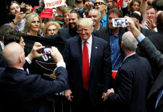 Le candidat présumé des républicains à la présidentielle de novembre, Donald Trump, le 27 mai à San Diego en Californie.