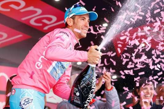 Vincenzo Nibali– ici, le 28 mai 2016– a remporté le 99eTour d'Italie.