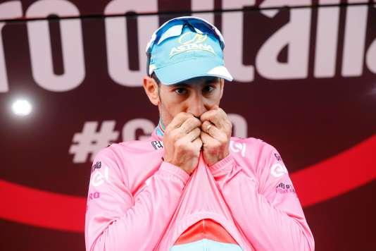 L'Italien Vincenzo Nibali, le 28 mai.