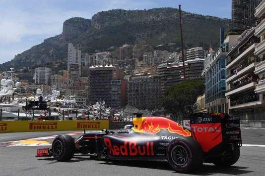 Daniel Ricciardo au volant de sa Red Bull, à Monaco, le 28 mai.