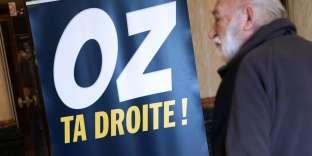 « Oz ta droite», mouvement de Robert Menard lors du« Rendez-vous de Béziers» en mai 2016.