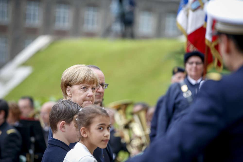 « Votre accueil chaleureux n'a rien d'évident pour moi, comme chancelière d'Allemagne », a souligné Mme Merkel.