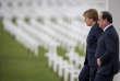 François Hollande et Angela Merkel participe à la commémoration du centenaire de la bataille de Verdun. Douaumont, dimanche 29 mai 2016 - 2016©Jean-Claude Coutausse / french-politics pour Le Monde