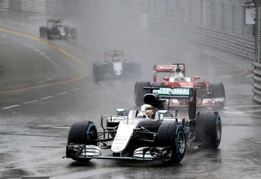 La Mercedes de Lewis Hamilton, le 29 mai à Monaco.