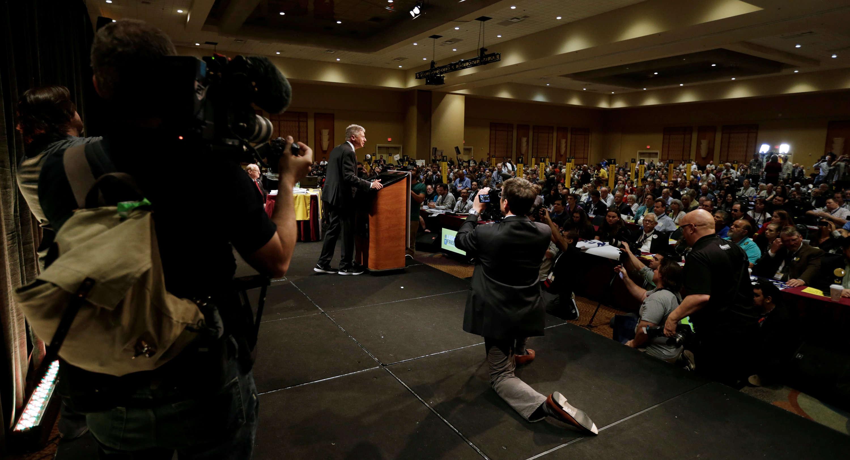 Le programme de Gary Johnson se résume en quelques mots : « Je suis fiscalement conservateur et socialement libéral. »