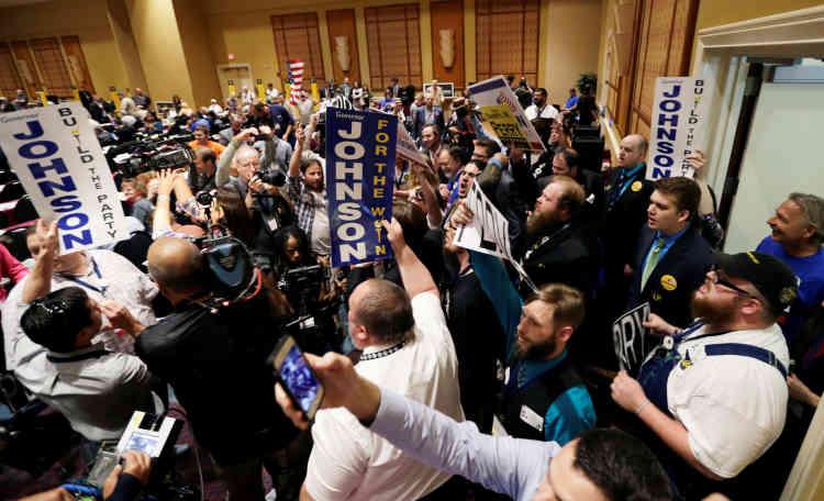 Le candidat libertarien table sur le désamour des électeurs pour les politiciens «classiques » pour attirer des voix. Des sondages le créditent de 10 % des voix.