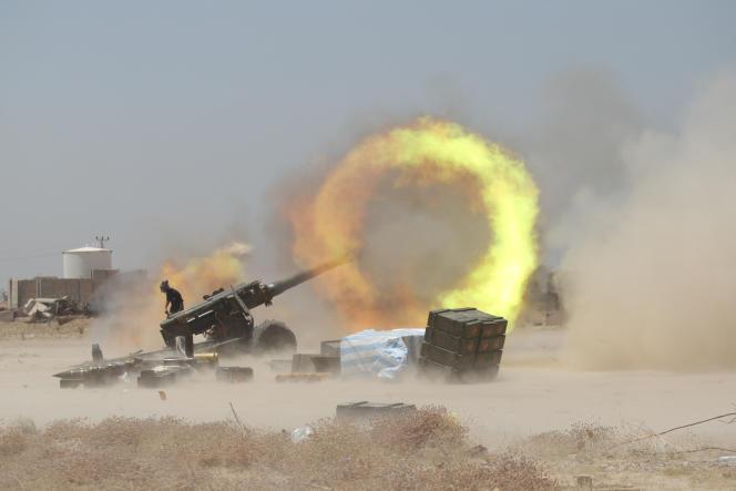 Les forces irakiennes à Fallouja, le 29 mai.