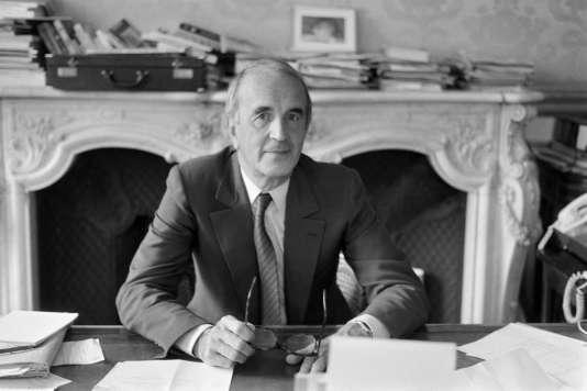 Andre Rousselet en 1982.