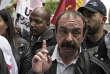 Le secrétaire général de la CGT, Philippe Martinez, à la manifestation contre la loi Travail du 260mai 2016 à Paris.