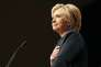 Hillary Clinton lors de sa réunion éléctorale à Las vegas le 26 mai.