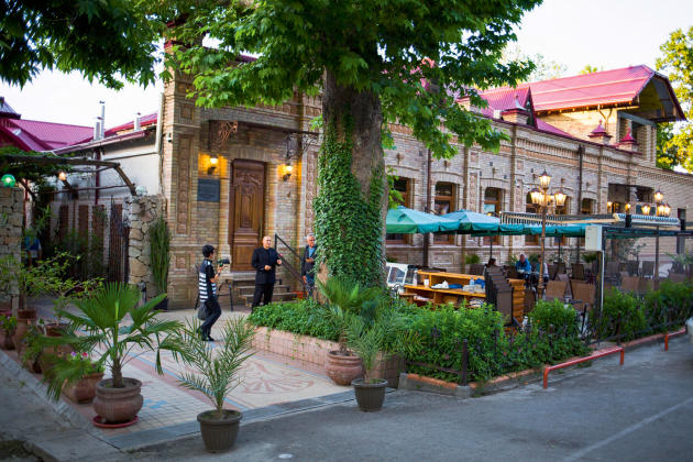 Restaurant ouzbek Platan.