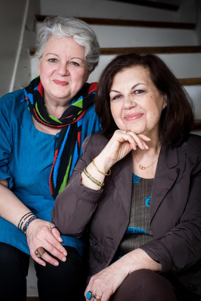 Marianne Comolli et Elisabeth Scotto.