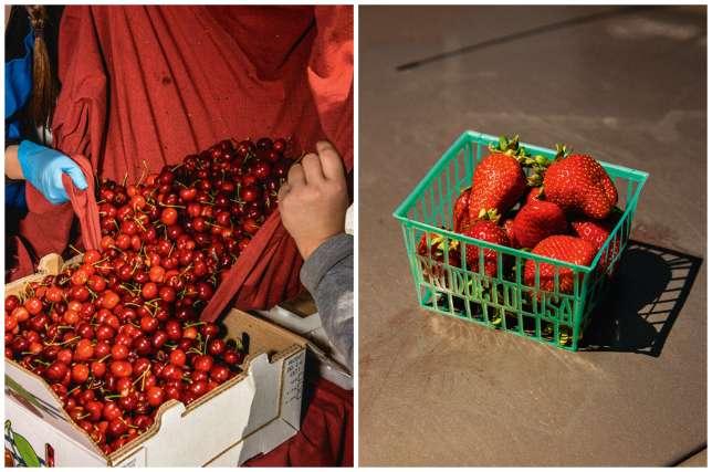 Au Farmers Market, près de l'Embarcadero, les « foodies» ne regardent pas à la dépense pour des produits de qualité.