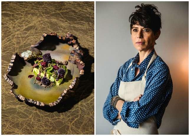 L'Atelier Crenn, de la Française Dominique Crenn, propose une cuisine poétique, comme « Océan», un ormeau fumé.