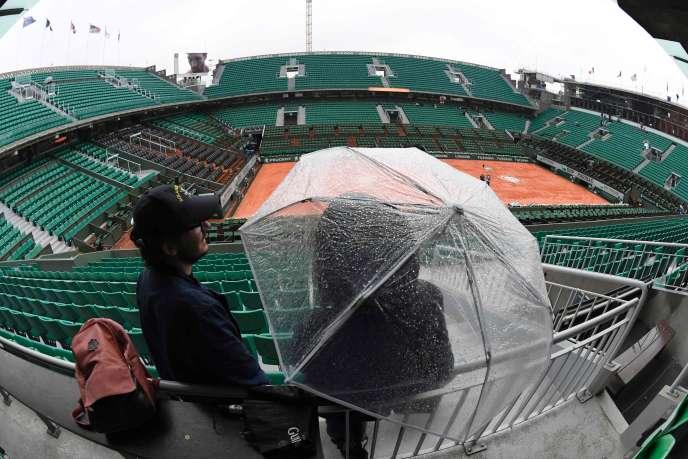 Roland-Garros, le 30 mai.