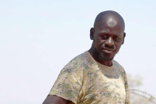 Omar Daiby filmé en Syrie par les journalistes de l'emission« complément d'enquête» ( France2).