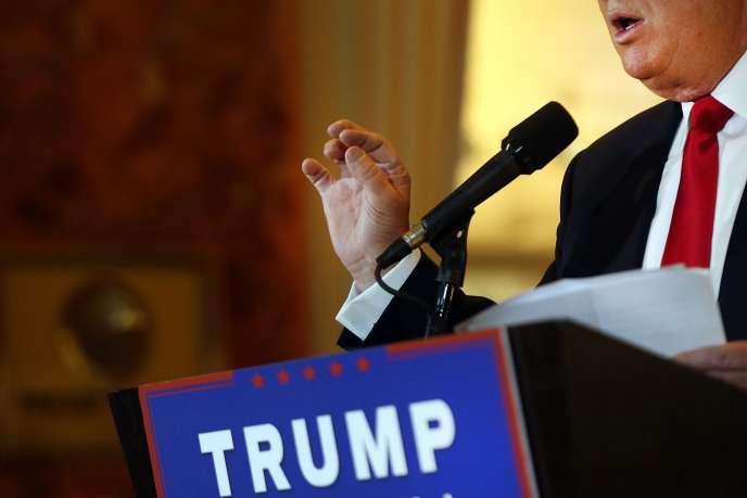 Donald Trump a promis de construire un mur à la frontière mexicaine pour empêcher les immigrants d'entrer aux Etats-Unis.