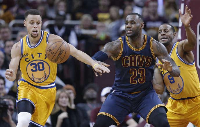 Stephen Curry et LeBron James refont le match.