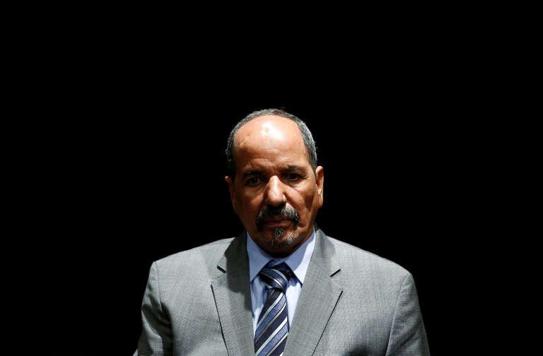 Le président de la République arabe sahraouie démocratique, Mohamed Abdelaziz, à Madrid en novembre 2014.