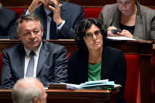 La ministre du travail, Myriam El Khomri, le 31 mai, à l'Assemblée nationale, à Paris.